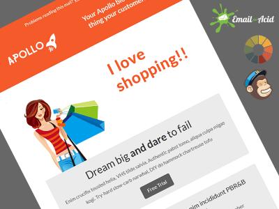 Apollo Shopping Master MailChimp Template