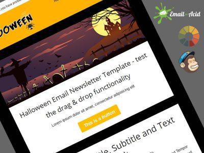 Hallooween Responsive MailChimp Template