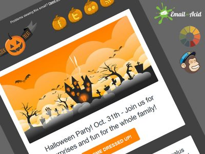 Scary Master Newsletter Theme