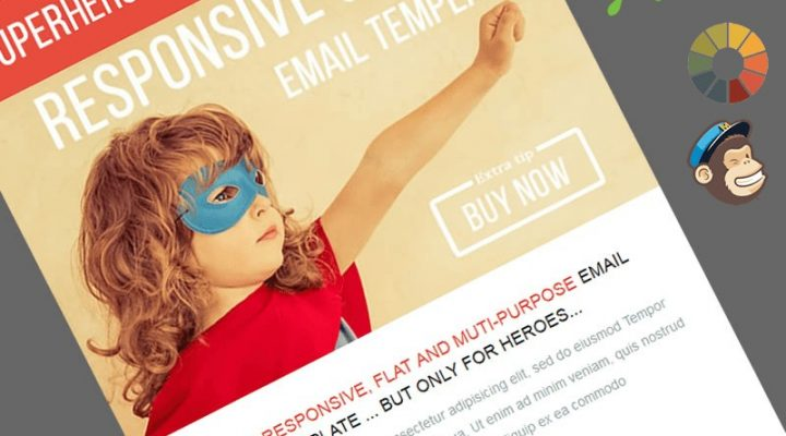 Superheroo Free MailChimp Template