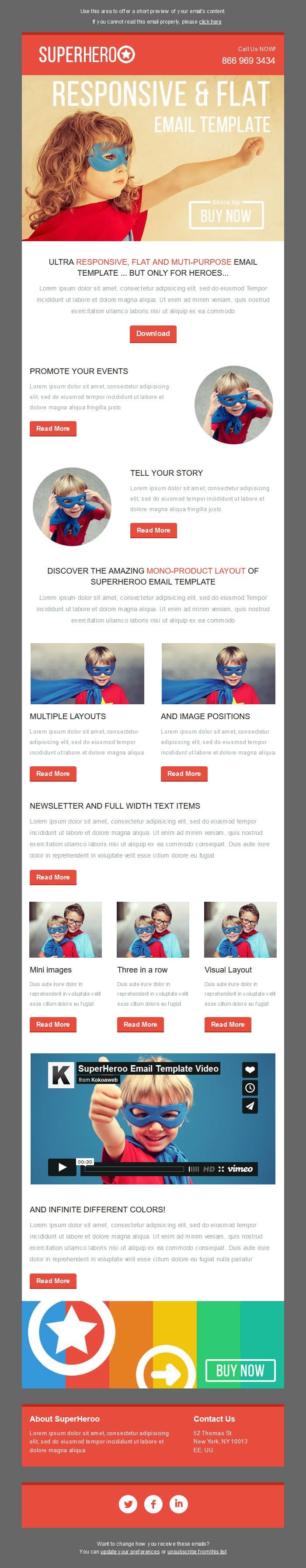 Startup Basic Newsletter Template