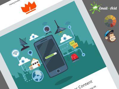 Ziappar Business Free Newsletter template
